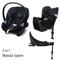 Cybex M-Line Modularsystem 2-in-1, Granite Black 2020
