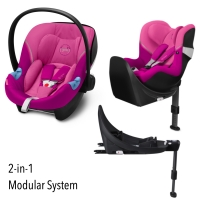 Cybex M-Line Modularsystem 2-in-1, Magnolia Pink 2020