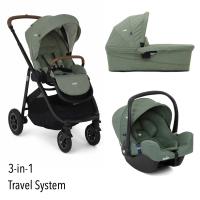 Joie Versatrax 3-in-1 inkl. Babywanne und Autositz, Laurel 2020