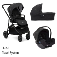 Joie Versatrax 3-in-1 inkl. Babywanne und Autositz, Pavement 2020