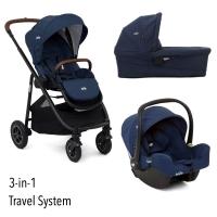 Joie Versatrax 3-in-1 inkl. Babywanne und Autositz, Deep Sea 2020