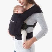 Ergobaby Embrace Babytrage, Pure Black