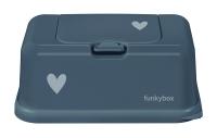 FunkyBox Feuchttücher Box, petrol heart