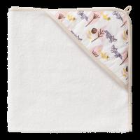 Fresk Baby Kapuzenbadetuch - Fox pink