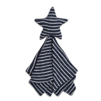Aden Anais Snuggle Knit Lovely Kuscheltuch - navy stripe