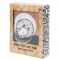 Petit Monkey Stoffbuch sleepy wakey