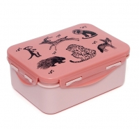 Petit Monkey Lunch Box, Black Animals