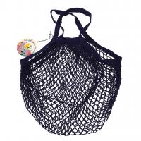 Rex London Netzeinkaufstasche aus Bio-Baumwolle, Navy Blue