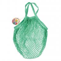 Rex London Netzeinkaufstasche aus Bio-Baumwolle, mint green