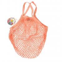 Rex London Netzeinkaufstasche aus Bio-Baumwolle, coral