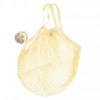 Rex London Netzeinkaufstasche aus Bio-Baumwolle, cream
