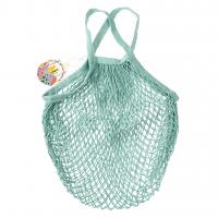 Rex London Netzeinkaufstasche aus Bio-Baumwolle, Egg Blue