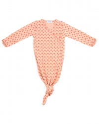 Snoozebaby geknotete Schlafbody Cocon, Dusty Rose