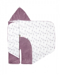 Snoozebaby Wickeldecke Trendy Wrapping, Soft Mauve