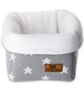 Babys Only Aufbewahrungskorb, Grau/ Sternen