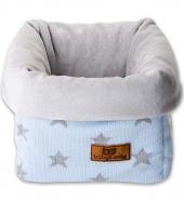 Babys Only Aufbewahrungskorb, blaue Sterne