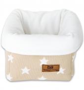 Babys Only Aufbewahrungskorb, Beige/ Sternen