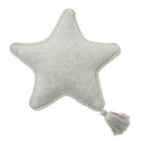 Lorena Canals Strickkissen, Twinkle Star Grey
