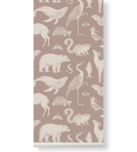 Ferm Living Tapeten - Animals Dusty