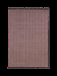 Ferm Living Herringbone Decke, Aubergine