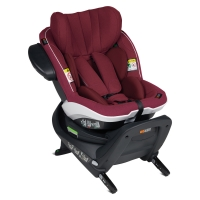 BeSafe iZi Turn Reboard Autositz, Burgundy Melange
