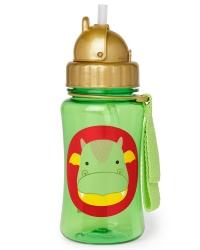 Die Zoo Strohhalm-Flasche von Skip Hop, Drache
