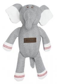 Juddlies Rassel - Elefant, driftwood grey