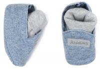 Juddlies Babyschuhe - denim blue, 0-3 Mon.