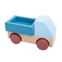 Sebra Wagen aus Holz, blau
