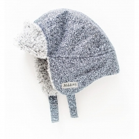 Juddlies Wintermütze, Salt & Pepper Grey