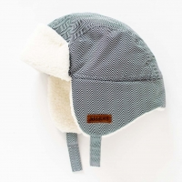 Juddlies Wintermütze, Herringbone Grey