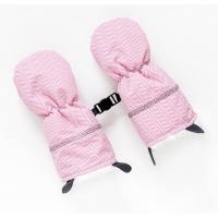 Juddlies Handschuhe, Herringbone Pink