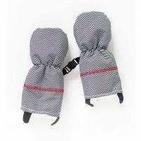 Juddlies Handschuhe, Herringbone Grey