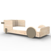 Mathy by Bols Montessori Discovery Einzelbett, Linnen