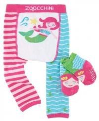 Zoocchini Baby Leggins & Socken Set, Marietta die Meerjungfrau