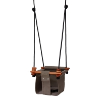 Solvej Swings Schaukel Baby & Kleinkind Classic, Taupe
