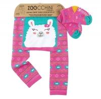Zoocchini Baby Leggings & Socken Set, Laney das Lama
