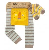 Zoocchini Baby Leggins & Socken Set, Leo der Löwe