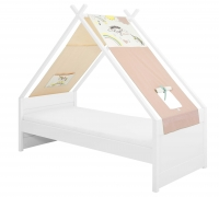 Cool Kids Furniture Tipi-Bett, Einhorn (Little Girl)