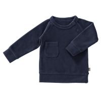 Fresk Velour Pullover, indigo