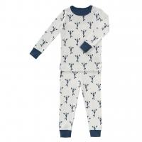 Fresk Pyjama, Lobster/ indigo