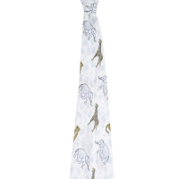 Mulltuch Swaddle, Jungle/ Tropical