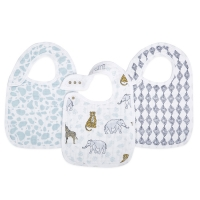 Aden + Anais Lätzchen Snap Bibs, 3er Pack - Jungle