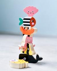 Petit Monkey Stapelspiel, Ozean