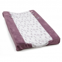 Snoozebaby Wickelauflage-Bezug Happy Dressing, Soft Mauve