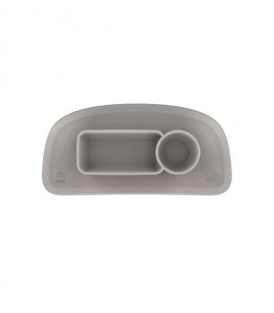 STOKKE Tripp Trapp Silikon-Tischset für Tablett v2, Soft Grey