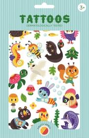 Petit Monkey Kinder-Tattoos, We Are Family