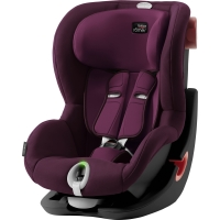 Britax Römer KING II LS BLACK SERIES, Burgundy Red 2020