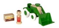 BRIO My Home Town, Traktor mit Frontlader