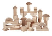 BRIO Natur Holzbausteine, 50 Teile